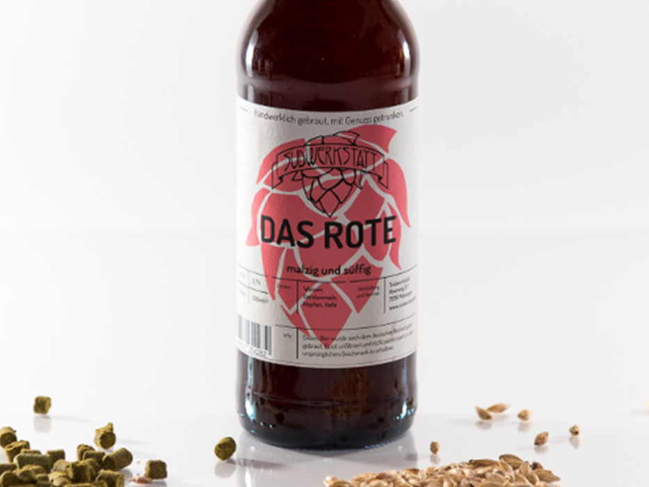 Beer bottle labels - Speidels Braumeister