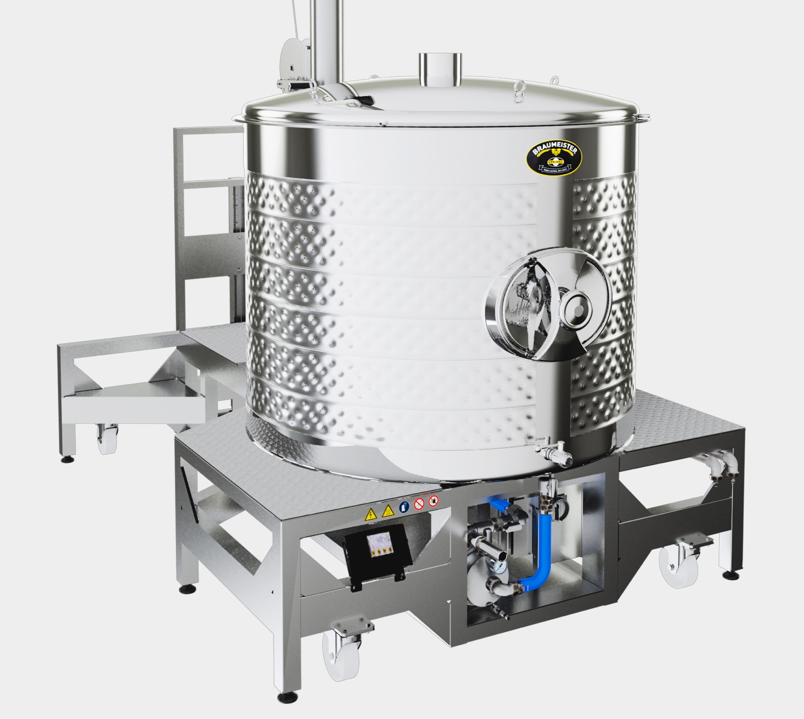 Home brewing equipment made of stainless steel - Speidels Braumeister