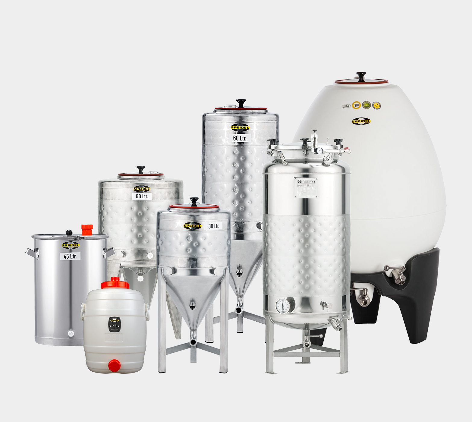 Speidel fermentation tanks